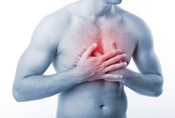 боль в желудке при глотании пищи