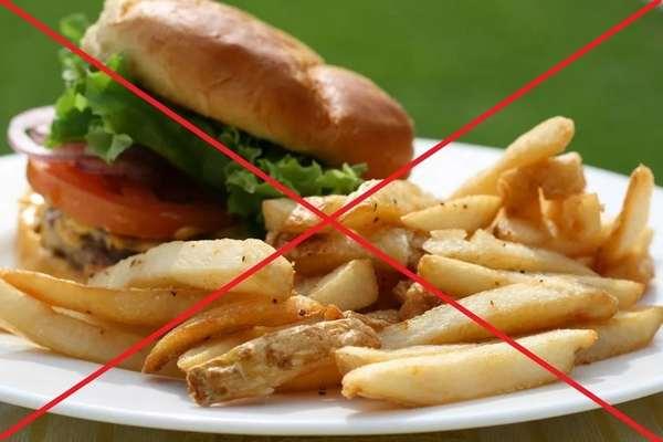 диета для похудения при язве