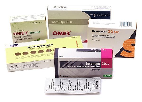 Таблетки от боли в желудке при гастрите